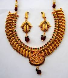 antique lakshmi necklace set shop online