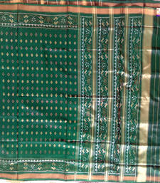 Buy Green hand_woven silk saree with blouse silk-saree online