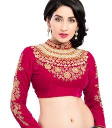 Buy THE MAHARANI BLOUSE. STUDDED & EMBROIDERED crop-top online