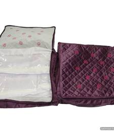 Buy purple colour multi saree covers in one kit jewellery-box online