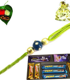 Buy Supreme Deluxe Rakhi Pack with chocolate rakhi-with-chocolate online