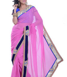 Buy RANI embroidered viscose-sarees saree viscose-saree online