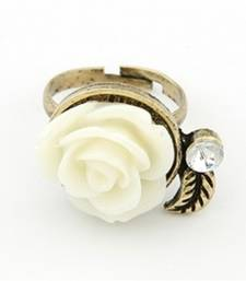 Buy White Rose Ring Ring online