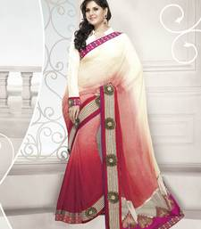 Buy Designer Elegant Zarine Khan Bollywood Sari STUDIO5205 georgette-saree online
