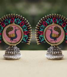 Buy peacock dancing - zip yourself studs stud online