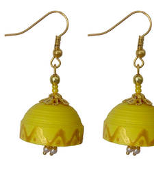 Buy Yellow danglers-drops danglers-drop online