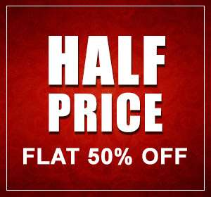 Buy Flat 50% online