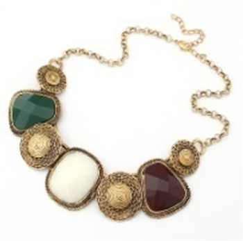 Antique Gold Plating Nacklace