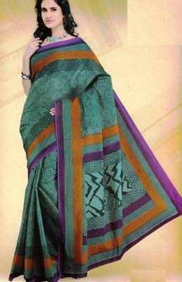 Elegant mal mal cotton saree with blouse piece d.no pw121