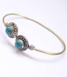 Buy Turquoise Agate Bangle Bracelet online