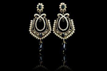 Hot indian Fashion elegant Crystal Rhineston Pink Earrings