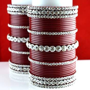 acrylic plastic panjubi suhag chura bangle stone moti with personaliz size-2.2,2.4,2.6,2.8,2.10