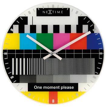 8607en-TEST PAGE Multi Color Funky Clock