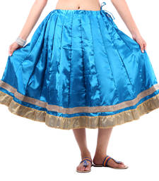 Buy Rajasthani Short Satin Lehanga skirt online