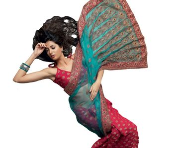 Designer Indian Sari SimSim 7001 B