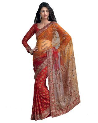 Designer Indian Sari SimSim 7010 A