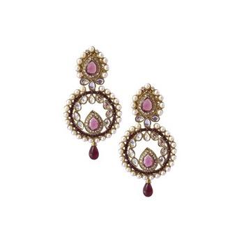 charming Purple Earrings