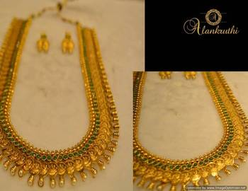Long Traditional Necklace Set