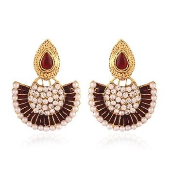 Classy Gold Plated Jewellery Earrings For Women