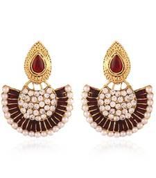 Buy Classy Gold Plated Jewellery Earrings For Women danglers-drop online