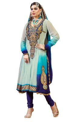 Party Wear Dress Material Fanz1015