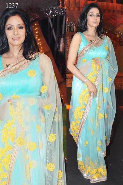 Buy Sridevi Bollywood Replica Sarees Online