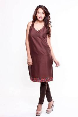 Ethnic Cotton Silk Tunic