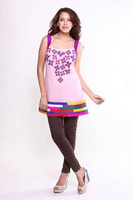 Ethnic Splash of Colour Tunic