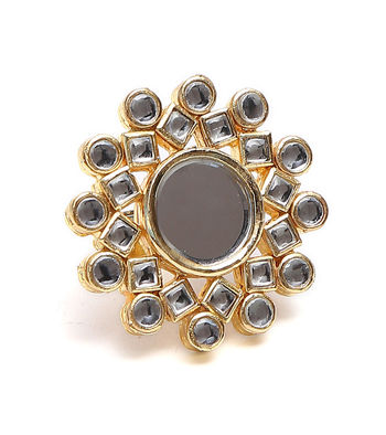 STATEMENT KUNDAN RINGS