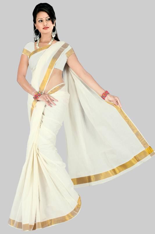 Buy Kerala Cotton Saree No 223 Online
