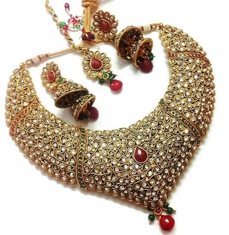 Punjabi Jewellery Online | Sikh Bridal Jewelry Sets