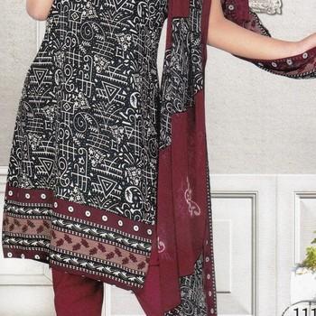 Dress Material Crepe Designer Prints Unstitched Salwar Kameez Suit D.No SJ1116