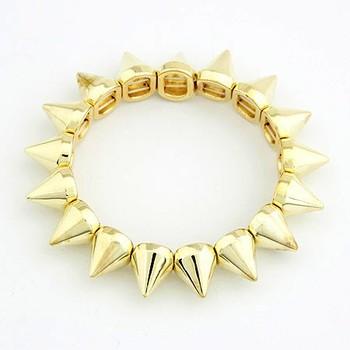 Golden Spike Bracelet