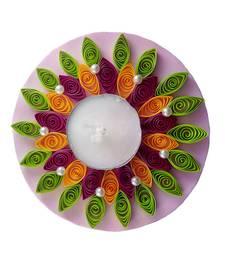 Buy Hand Made paper quilling floating Diwali Diya diwali-decoration online