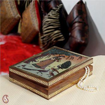 Polished Gemstone Jewel box