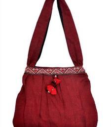 Buy  Hand bag with border jhola-bag online
