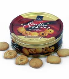 Buy Flavoursome 400g Sapphire Butter Cookies Gift Box Deepawali Gift 120 diwali-chocolate online