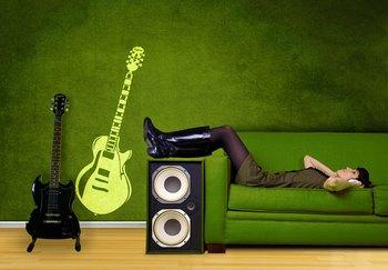 Guitar Decal