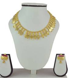 Buy Special Kolhapuri Necklace and Earring Set necklace-set online