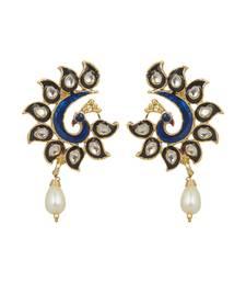 Buy Ethnic Festive Fashion Earrings danglers-drop online