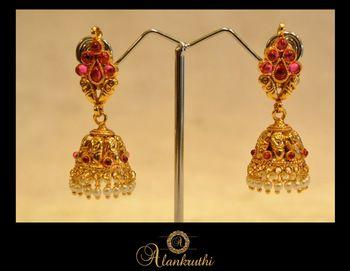 New Temple Jewellery - Jhumka 3