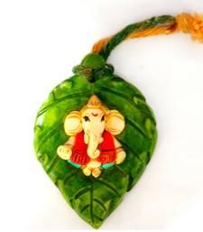 Buy Clay model leaf hanging ganesha resin material dummy online