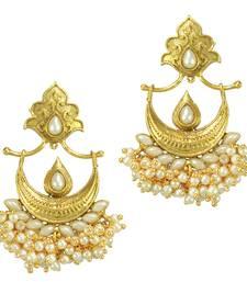 Buy Ethnic Indian Bollywood Fashion Jewelry Set Chandbali Earrings danglers-drop online