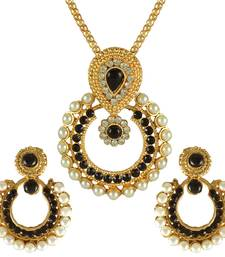 Buy Ethnic Indian Bollywood Fashion Jewelry Set Elegant Pendant Set necklace-set online