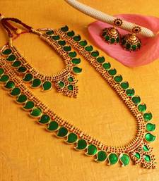 Buy BEAUTIFUL 4PCS MANGO BRIDAL JEWEL SET bridal-set online
