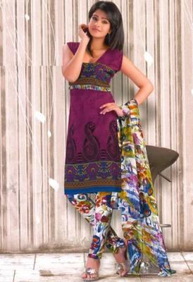 Crepe dress material elegant designer unstitched salwar suit d.no rg1030
