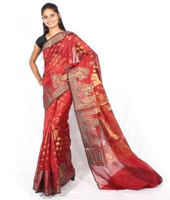 Banarasi Fancy Zari Saree