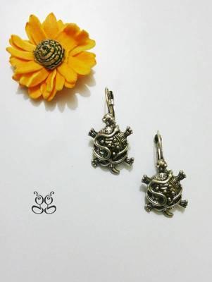 Fashion Earring - Tortoise