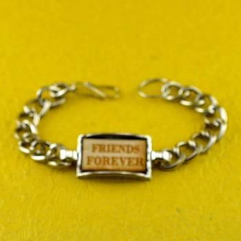 silver platted bracelet