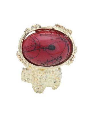 YSL Inspired Ring- Red